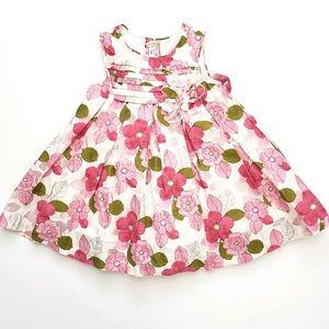 Nwot Mayoral Creme/Pink/Green Floral Dress